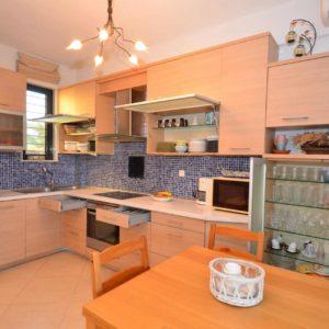 Kitchen in Kalandra villa Halkidiki